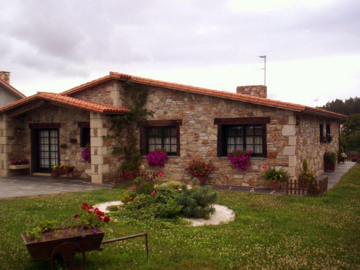 Publicaciones sobre construcciones de casas r sticas en for Decoracion rustica campestre