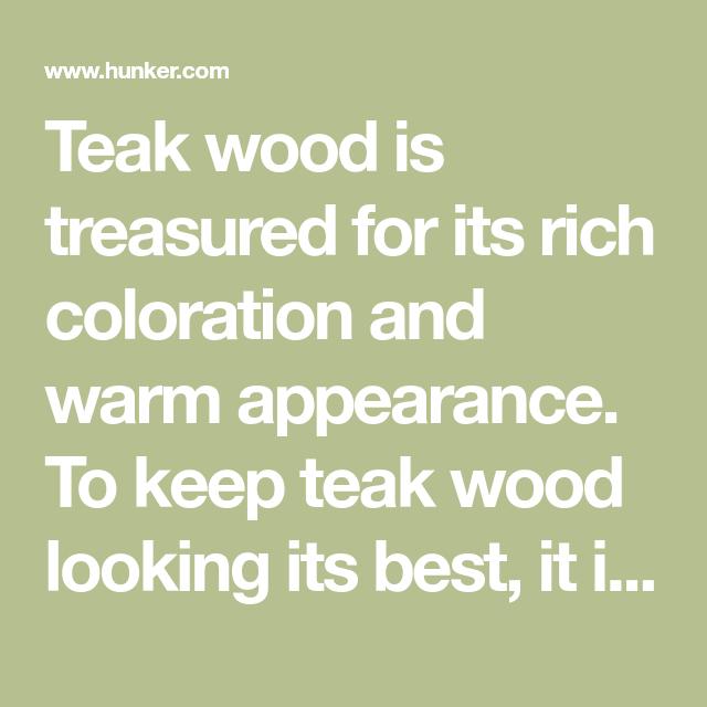 How To Darken Teak Oil Outdoor Ideas Teak Teak Wood Wood Furniture