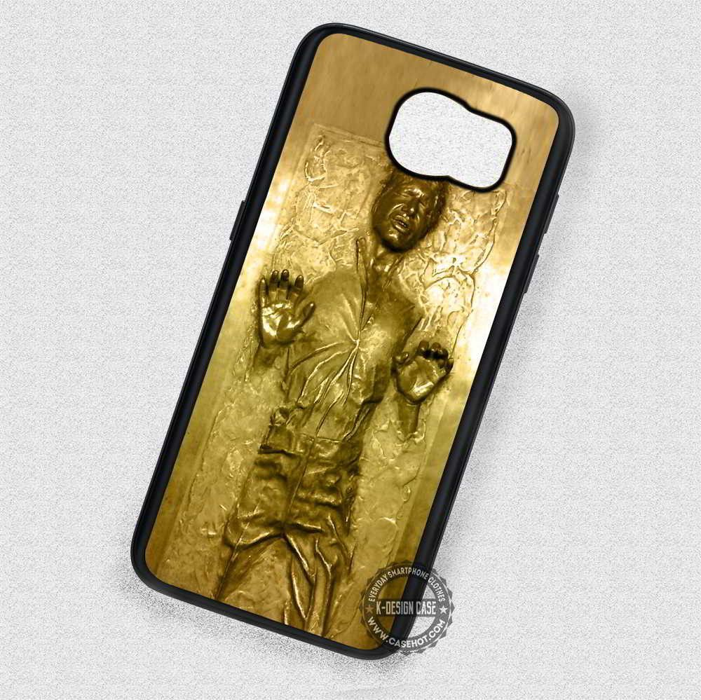 Golden Carbonited Man Star Wars Han Solo - Samsung Galaxy S7 S6 S5 ...