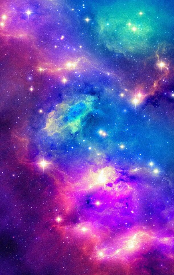 Galaxy iphone wallpaper space pinterest wallpaper phone and pink purple green and blue galaxy wallpaper thecheapjerseys Gallery