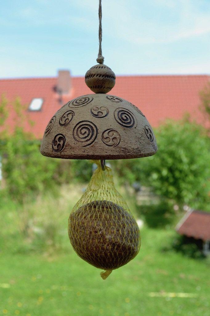Nistkästen & Vogelhäuser - Maisen-Knödelhalter 18-091 - ein Designerstück von KeramikKreativ bei DaWanda #slabpottery