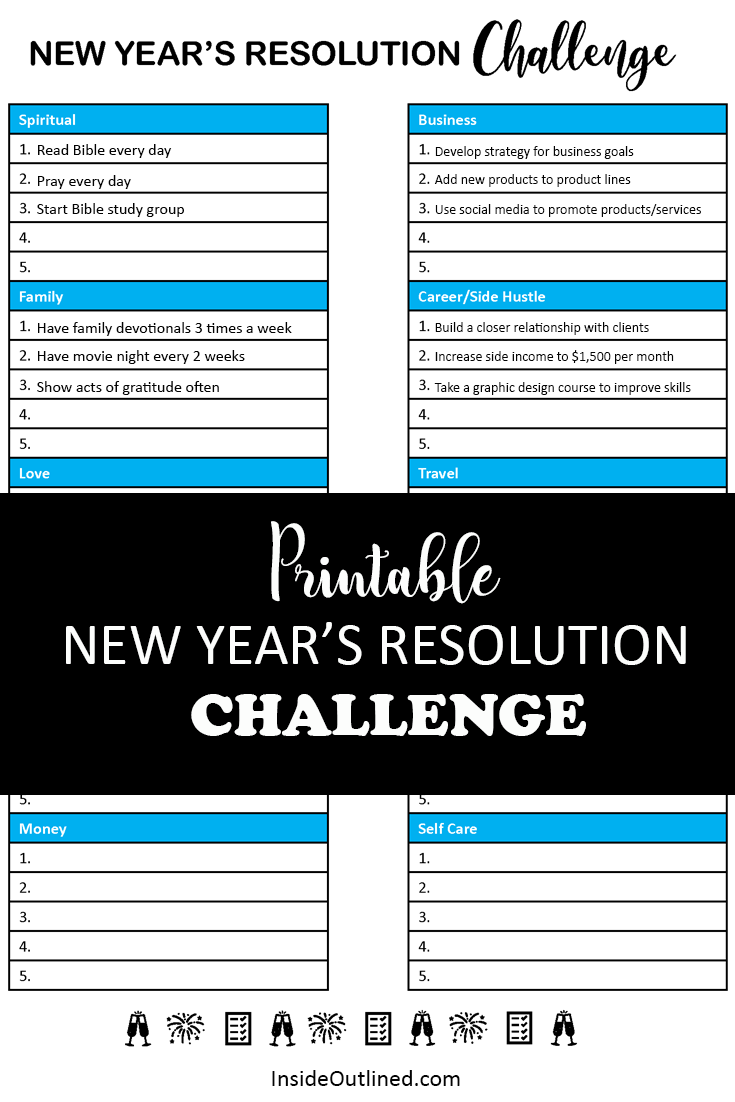 I Have For You A Free New Year S Resolution Challenge Printable Where You Can Outline The Areas Of Your Life Wh Read Bible Spiritual Business Bible Study Group