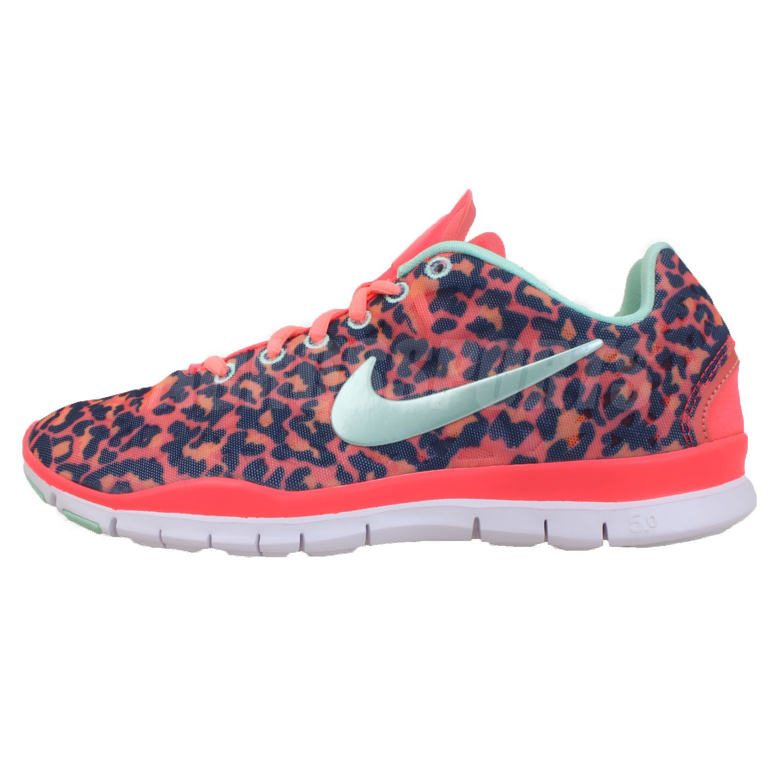 nike free tr fit animal print
