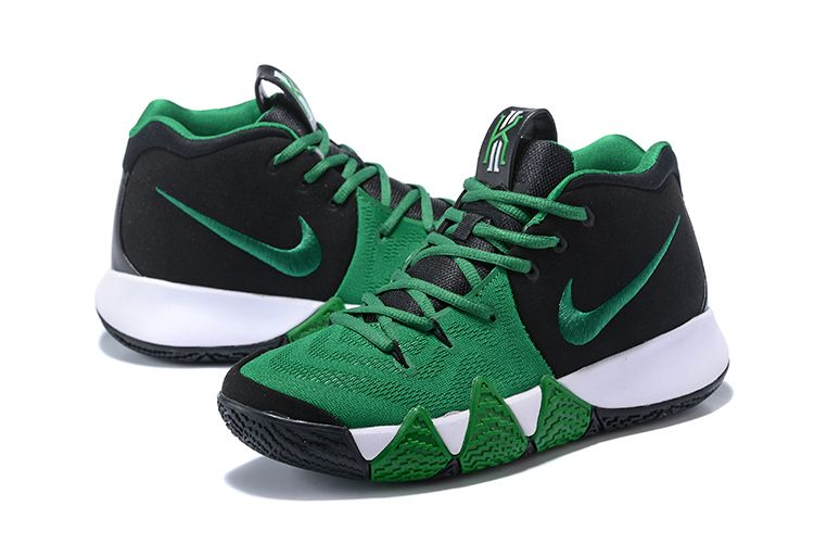 info for 78460 9d7f2 2018 Nike Kyrie 4 Black Green-White For Sale   Air Jordans 2018