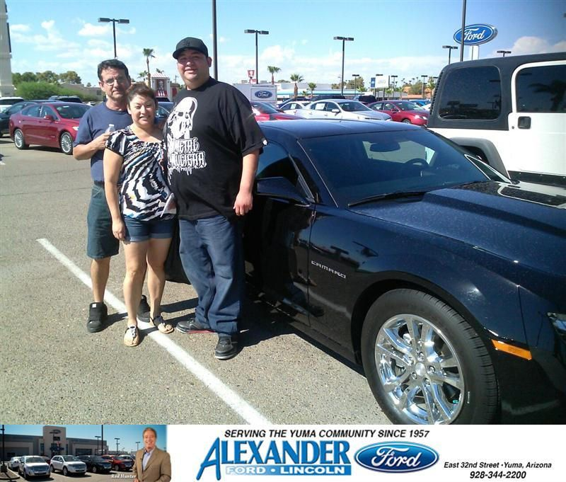 Happybirthday To Jesus Manriquez From Jose Guerrero At Bill Alexander Ford Lincoln Ford New Cars Camaro