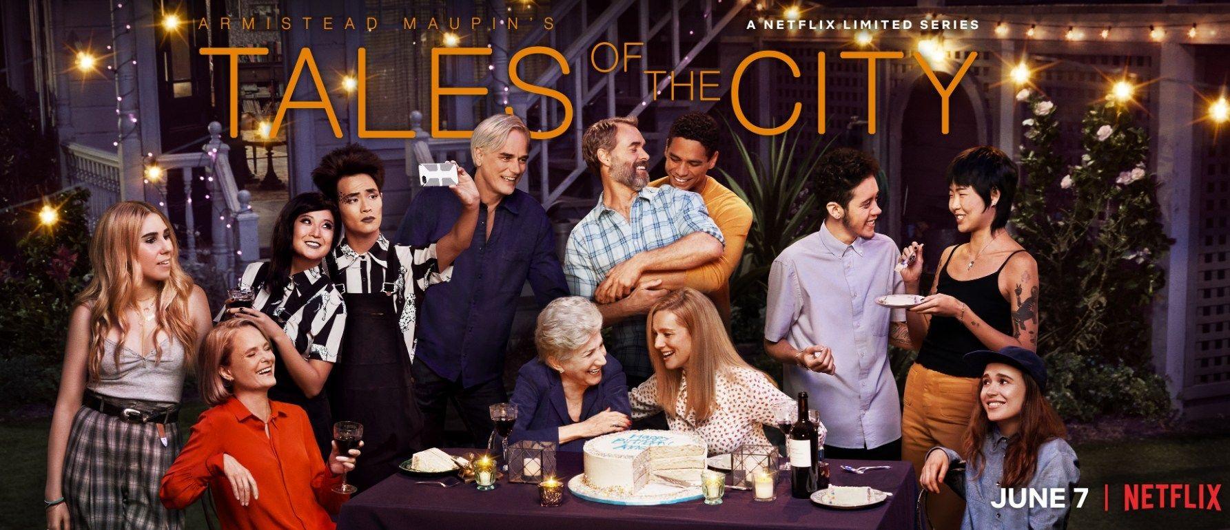 New To Netflix Armistead Maupin S Tales Of The City Sao Francisco Series Poster Leitores De Livros