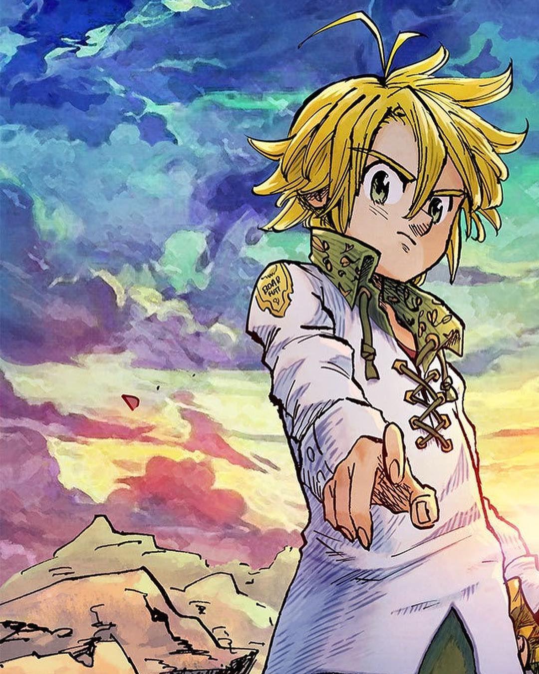 Pin by Jordannoad on Meliodas Anime, Sketches, Seven