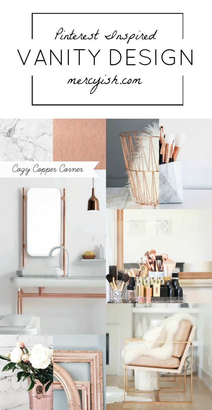 Your New Dream Vanity Design Revolves Around Marble And Copper A