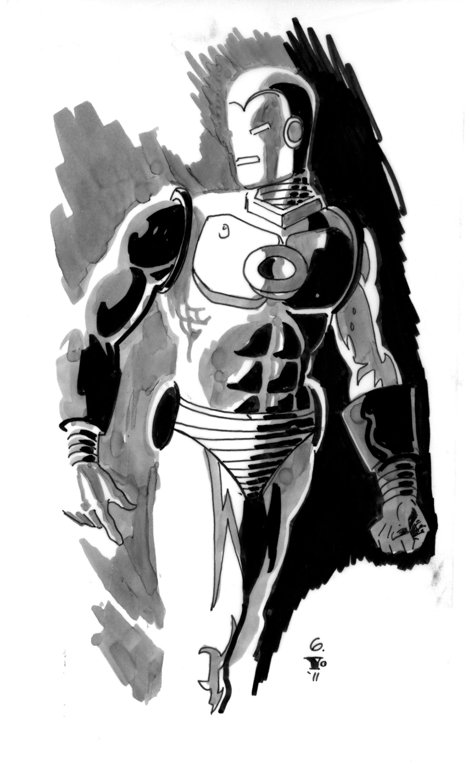 16 Invincible Iron Man Coloring Page