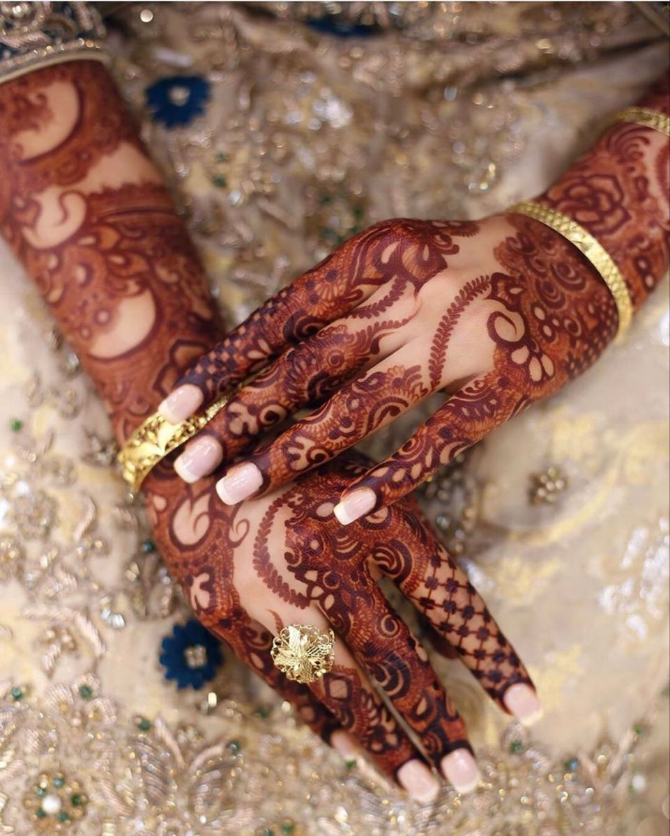 BFF Message Mehendi - New Henna design ideas you need to see!