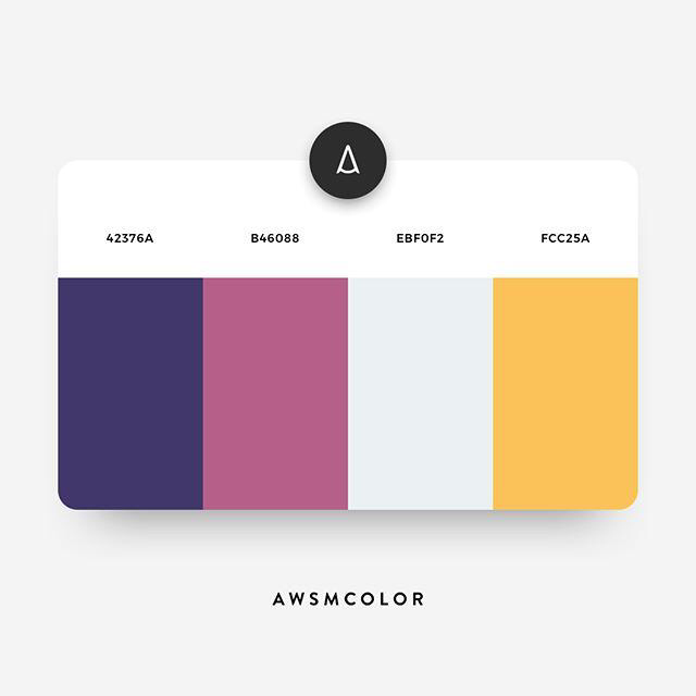 Color Schemes | Modern Color Palette Collections 2020
