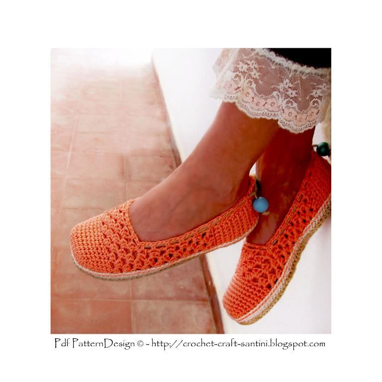 Looking for your next project? You're going to love Coral Lace Slippers by designer SOPHIE AND ME.