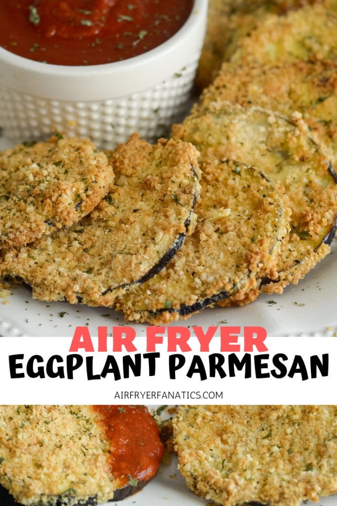 Make a delicious Air Fried Eggplant Parmesan that is also