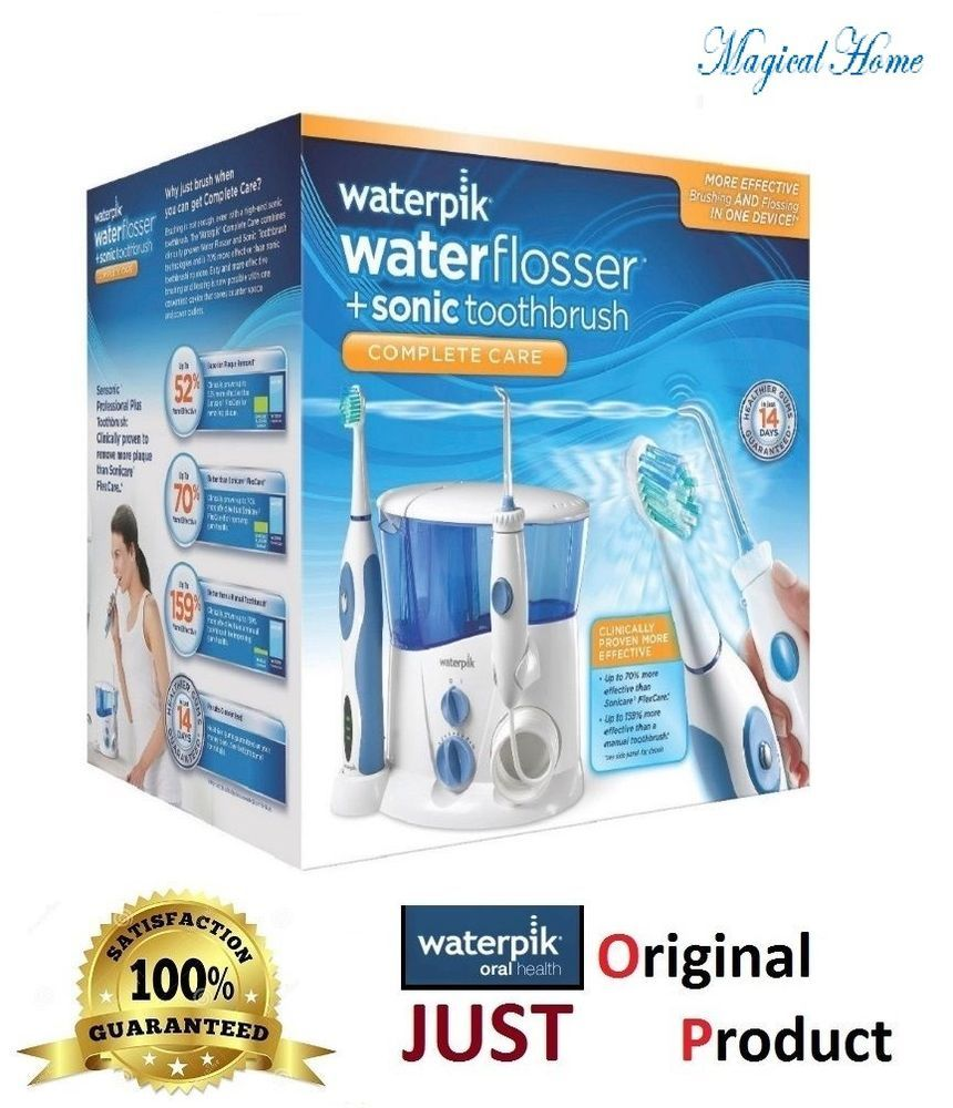 WaterPik SONIC WP900w Ultra Water Flosser and Sonic