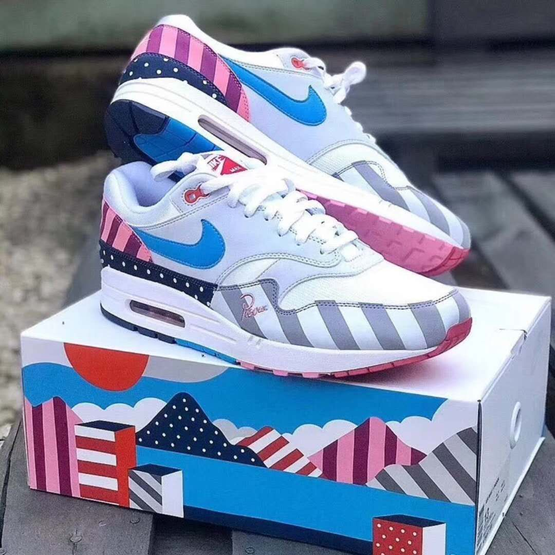 super cute f5975 09288 Get a Chance to Cop the Parra x Air Max 1 White Multi ...