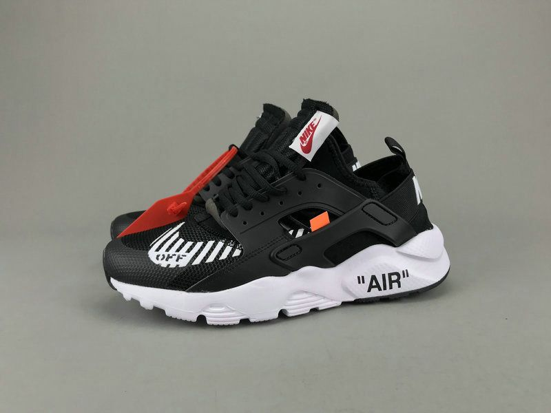 03ad9de38503 Off White x Nike Official Air Huarache Ultra Black White AA3841-001 ...