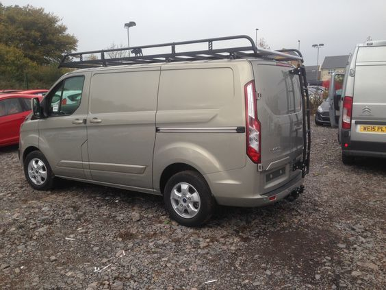 Ford Transit Modular Roof Rack And Rear Door Ladder