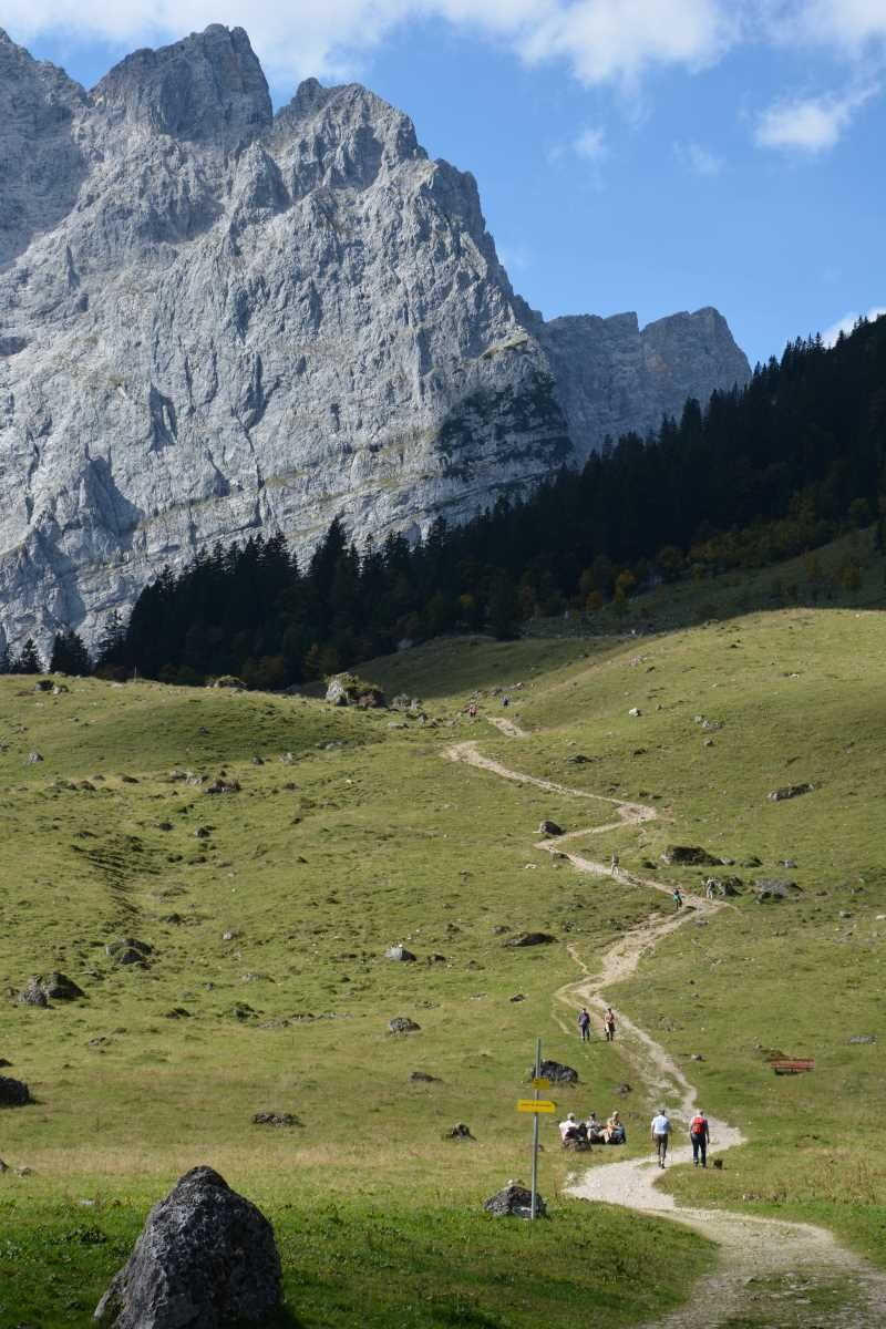 Grosser Ahornboden Im Karwendel Naturdenkmal Karwendel Ahorn