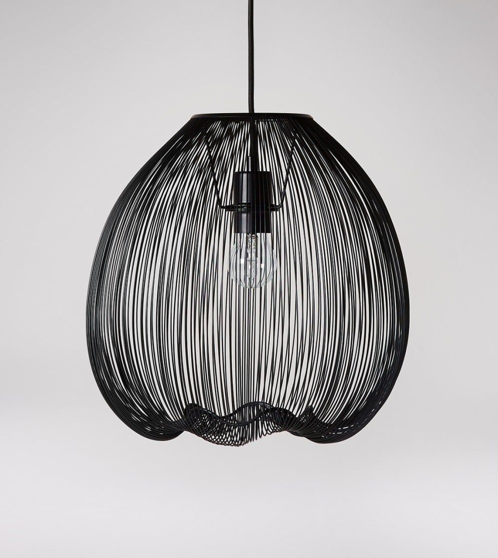 Obi Large pendant lighting, Black pendant, Pendant light