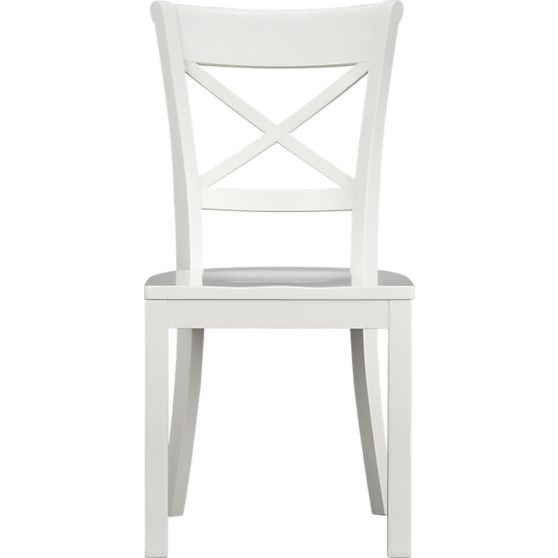 vintner white wood dining chair home dreams kitchens pinterest dining chairs chair and. Black Bedroom Furniture Sets. Home Design Ideas