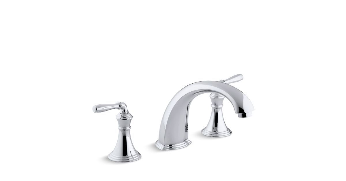 ON CONTRACT: The K-T398-4 bath faucet trim, with ADA-certified lever ...