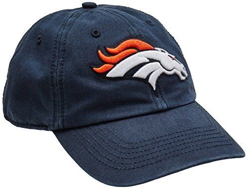 NFL Denver Broncos Clean Up Adjustable Hat Navy One Size Fits All Fits All  -- Want additional info  Click on the image. 4b6cff2f3