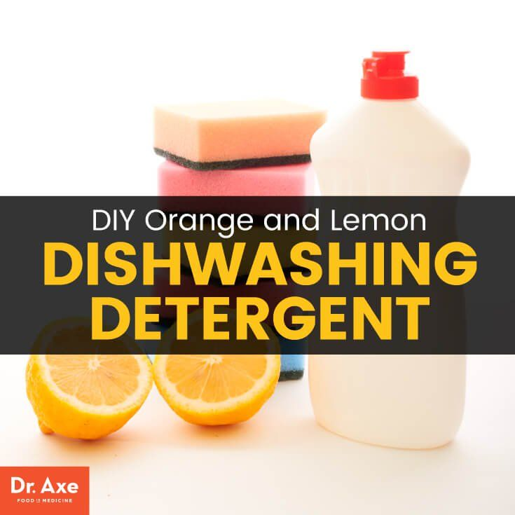 Homemade Dishwasher Detergent With Orange And Lemon Oils Recipe