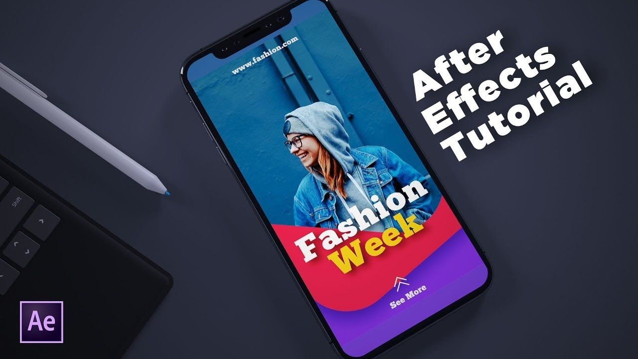 After Effects Tutorial Animate Instagram Stories Youtube After Effect Tutorial Animation Tutorial After Effects