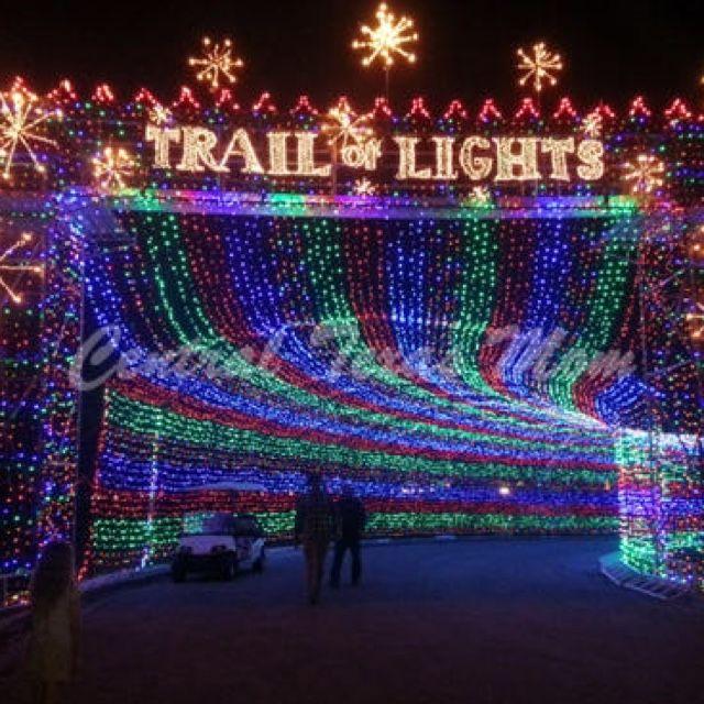 Zilker Park Trail Of Lights Zilker Park Park Trails Light Trails