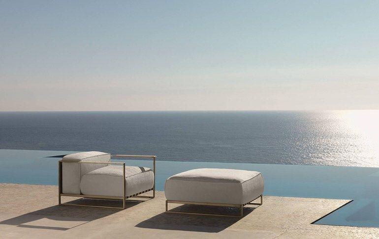 CASILDA | Garden armchair Casilda Collection By Talenti design Ramón Esteve