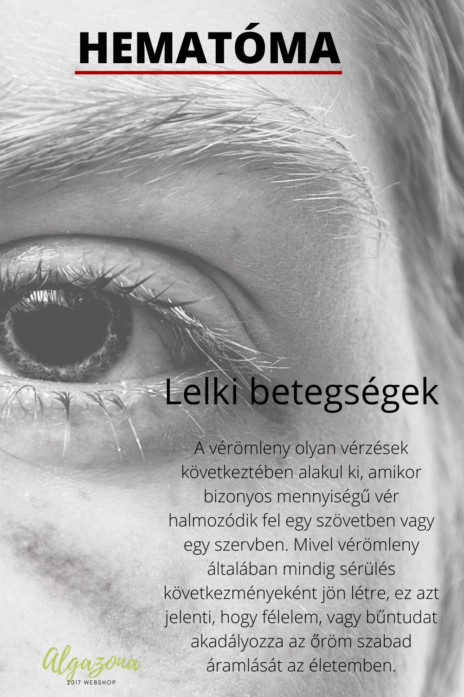 arc betegségek lelki okai