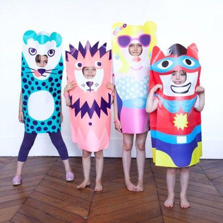 Denicheuse Com Costume En Papier Clever Halloween Costumes Kids Costumes Costumes