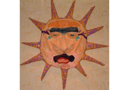 My hand sculpted sun