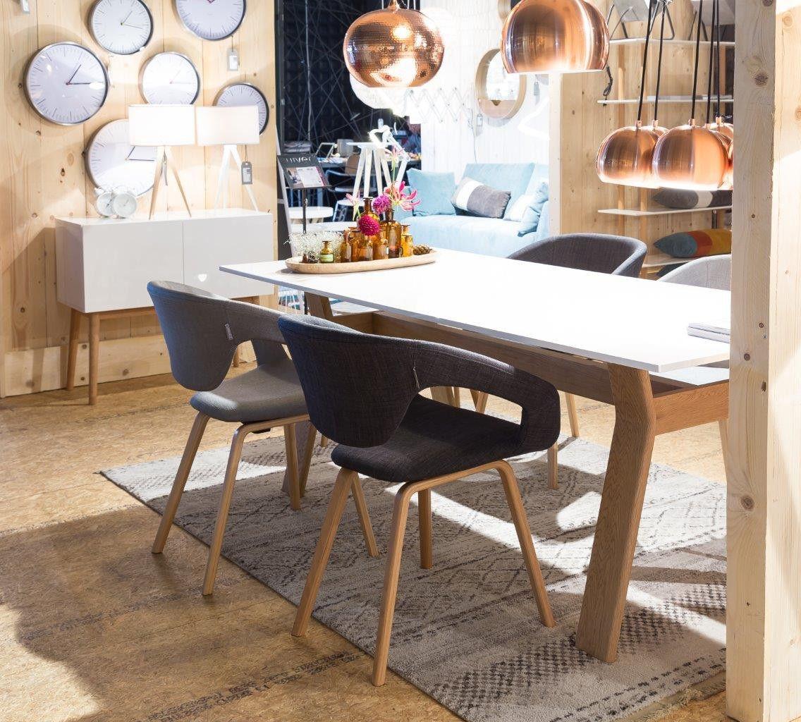 Zuiver flexibler Designer Stuhl FLEX BACK Dunkelgrau   Armchairs and ...