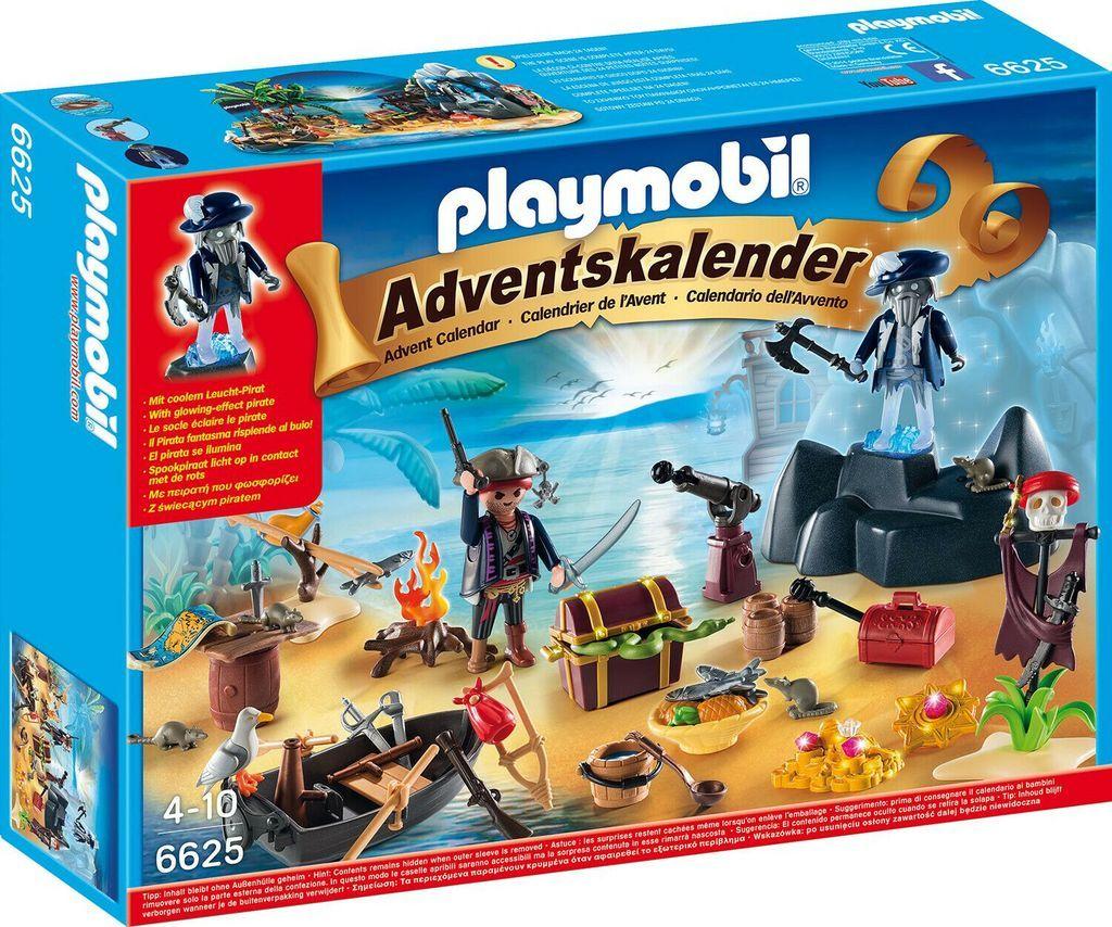 Playmobil 6625 Adventskalender Geheimnisvolle Piratenschatzinsel Figuren Kinder Con Imagenes Playmobil Calendario