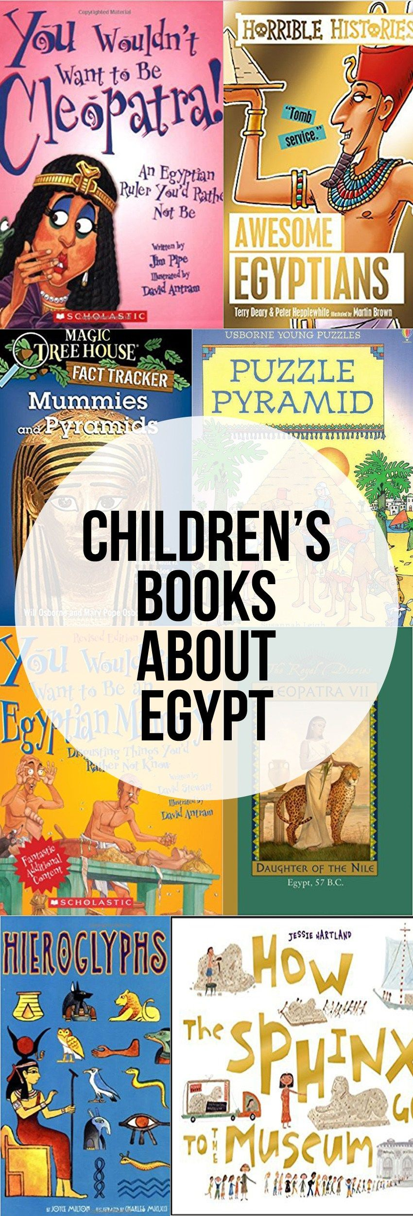 Photo of Children's Books About Egypt – Intentional Homeschooling