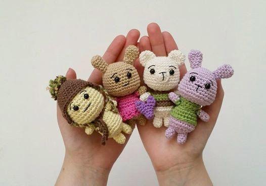 Free Amigurumi Downloads : Best amigurumi forest creatures images crochet