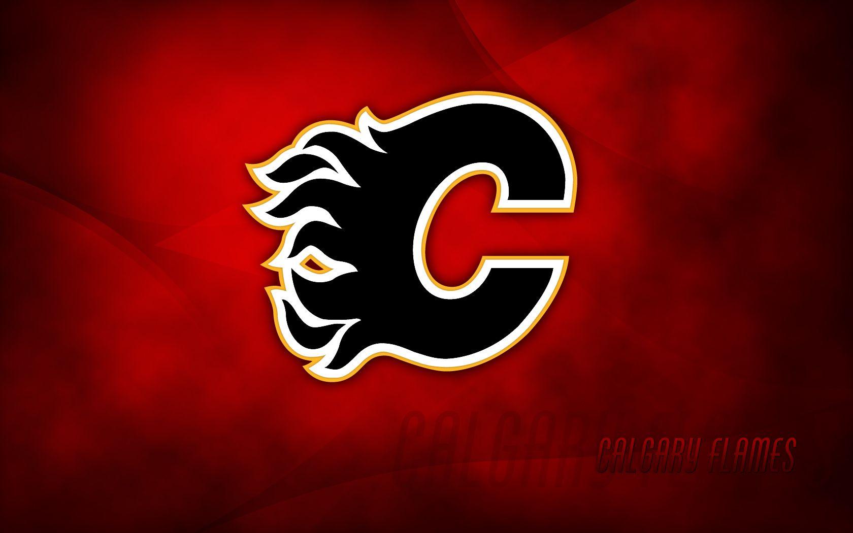 Calgary Flames Wallpaper 1 Nhlwallpapers Com Calgary Flames Calgary Nhl Logos