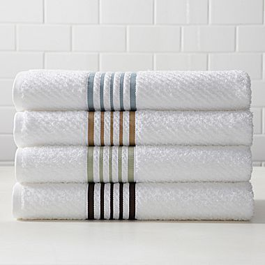 Linden Street Striped Quick Dri Towels Jcpenney These For Hand