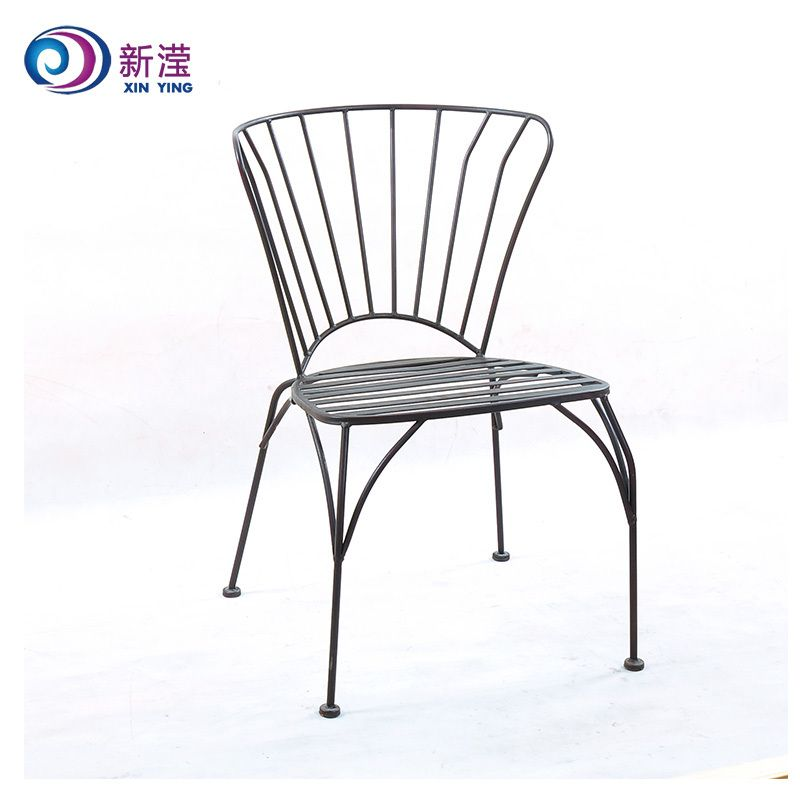 Outdoor Metal Furniture For Sale: Durable Metal Chair, Wrought Iron Chair, Outdoor Steel