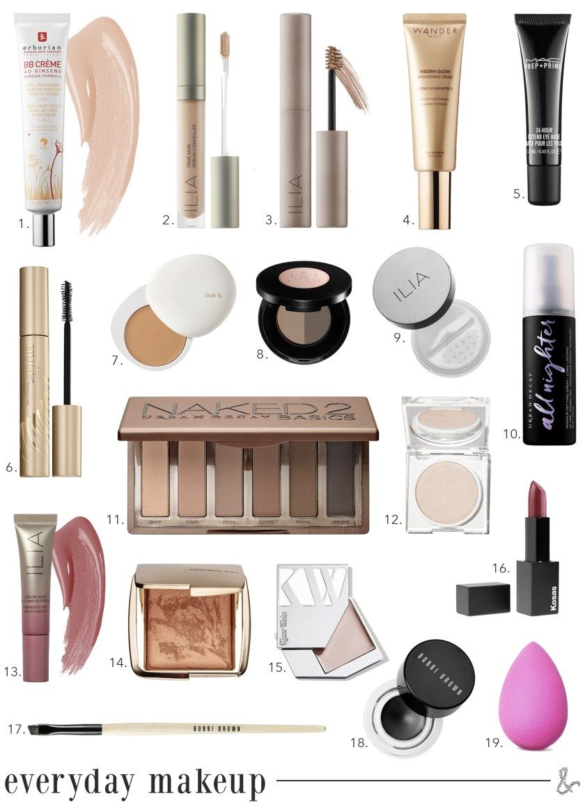Easy Every Day Makeup I wit & whimsy in 2020 Everyday