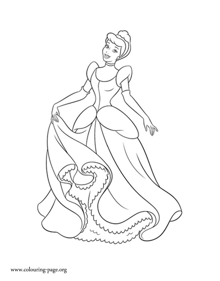 Cinderella Princess Cinderella Coloring Page Cinderella Coloring Pages Disney Princess Coloring Pages Princess Coloring Pages