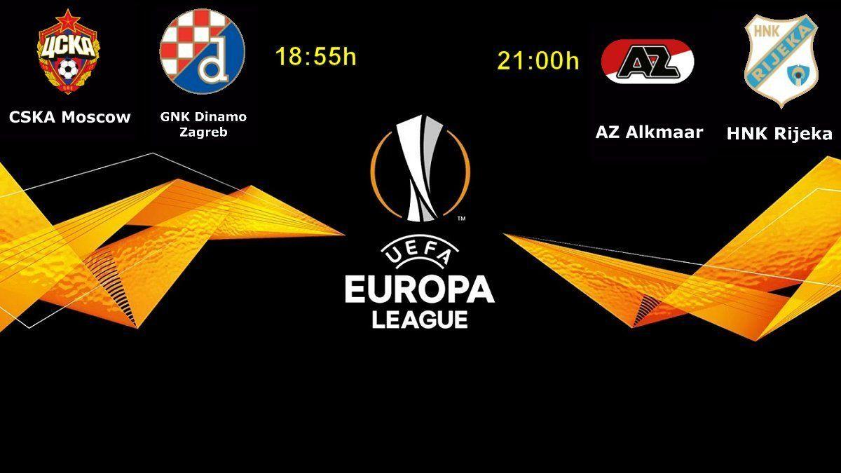 Uzivo Cska Dinamo Zagreb I Az Alkmaar Rijeka Ovdje Gledajte Live Stream Uefa Europska Liga 2 Kolo Racunalo Com Ict Movie Posters Poster