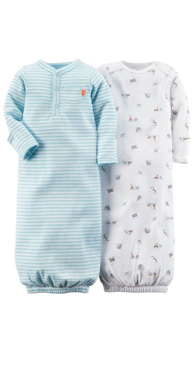 1057b4ab74be These sleeper gowns from Carter s will ensure sweet dreams.