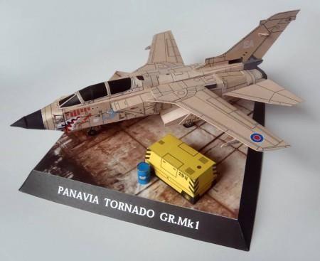 GELI PANAVIA Tornado KARTONMODELL