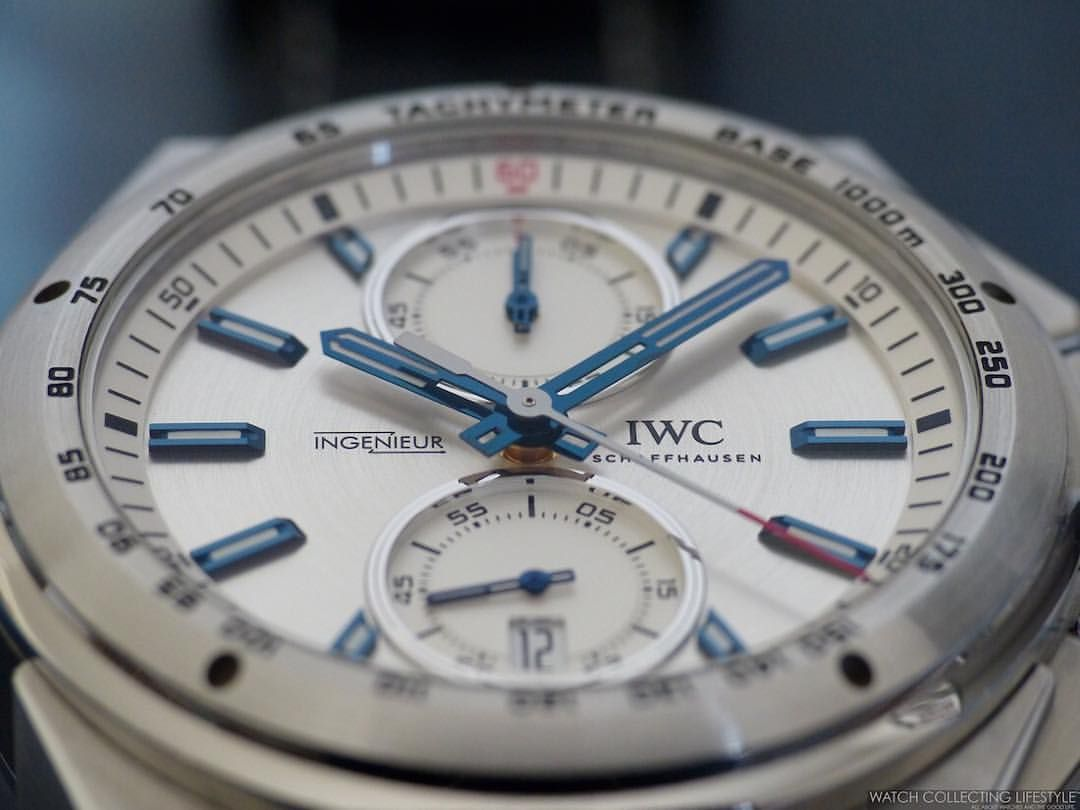 Read on our website why we think the @iwcwatches Ingenieur Chronograph Racer ref. 378509 is such an amazing chronograph. #thegoodlife #luxury #luxurylife #watchporn #watchcollectinglifestyle #watchcollecting #womw #wristporn #watchlifestyler #internationalwatchcompany #iw3785 #watches #chronograph #watchlife #timepieces #wristporn #dailywatch #lovewatches #378509 #iw378509 #ingenieurchronographracer #ingenieur #ingenieurchronoracer #iwc #iwcingenieur