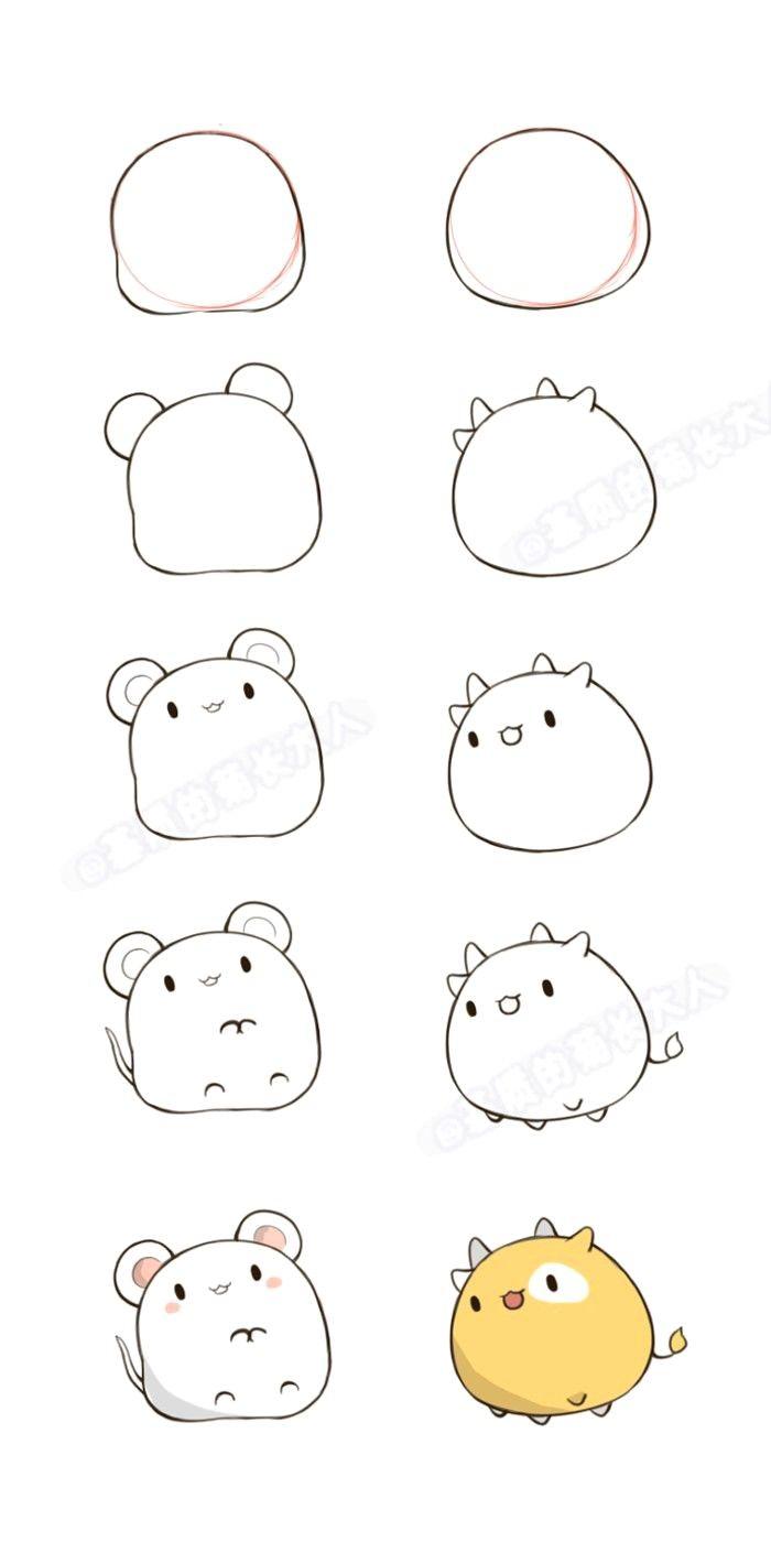 How To Draw Disegni Facili Disegni Semplici Disegni Kawaii
