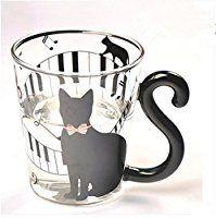 Süße Tasse mit Katzenmotiv.