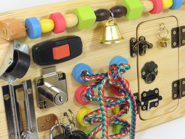 Busy Board Activity Board Sensory Board Montessori Kid Toy