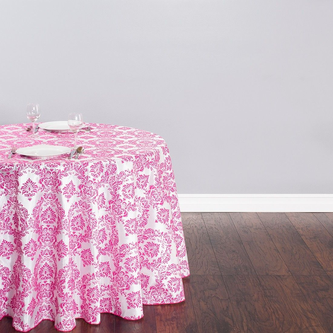 90 x 132 inch rectangular polyester tablecloth white on a 6 foot rh pinterest cl